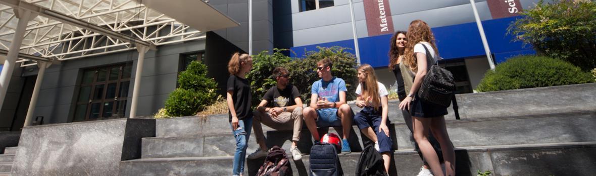 Studenti presso la Sede di Caniana